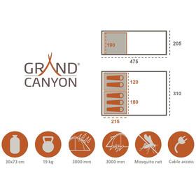 Grand Canyon Parks 5 - Tiendas de campaña - beige
